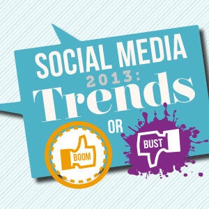 Social Media Trends 2013: Boom or Bust?