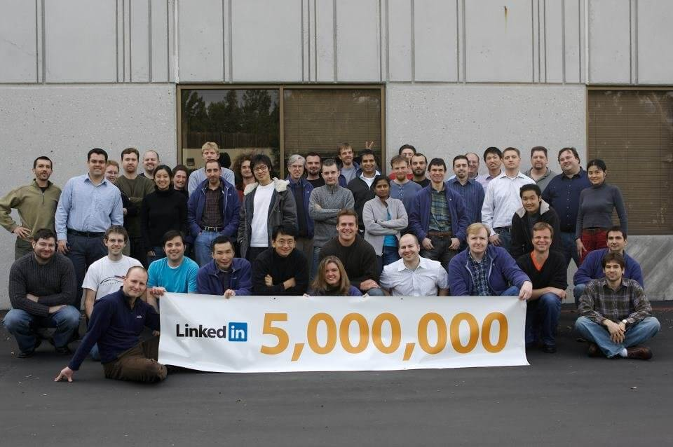 LinkedIn reaches 5 million members (Source: LinkedIn)