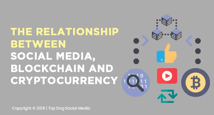The Relationship Between Social Media, Cryptocurrency and Blockchain