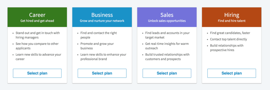 LinkedIn Membership Levels: Free vs Premium Business vs Sales Navigator
