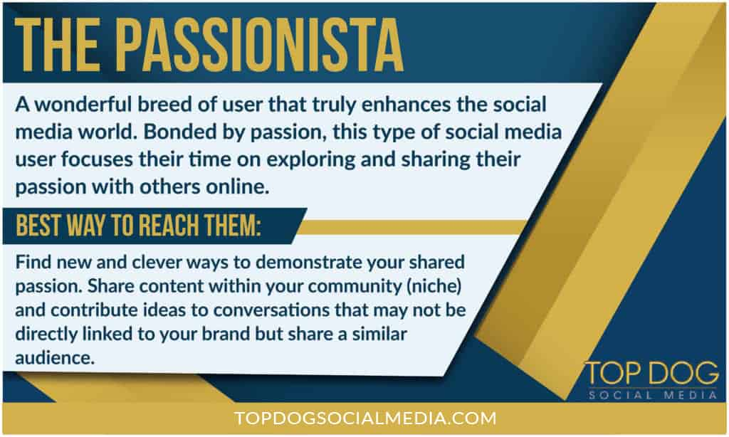 10 Types of Social Media Users: The Passionista