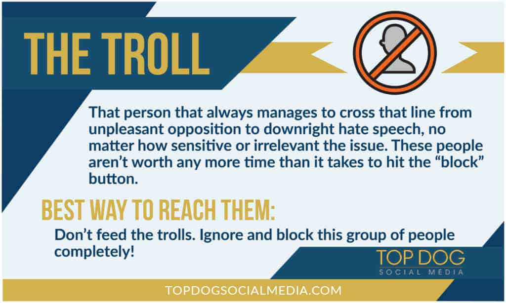 10 Types of Social Media Users: The Troll